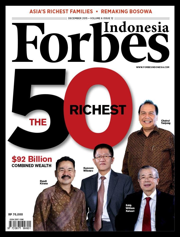 Forbes Indonesia Cover 50 Richest